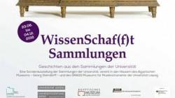 Sonderausstellung der Universität Leipzig : WissenSchaf(f)t Sammlungen