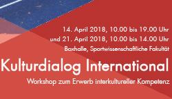 "Workshopangebot ""Kulturdialog International"""