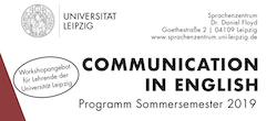 Communication in English: Neues Workshopprogramm für das Sommersemester 2019