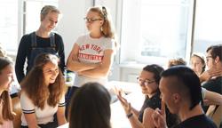 Mentoring beim Tag der offenen Tür an der Uni Leipzig